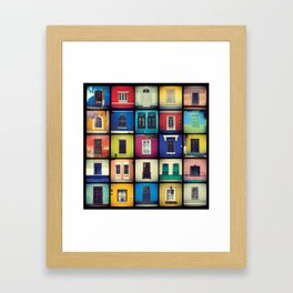 ventanas BARRANCO parte 2 Framed Art Print