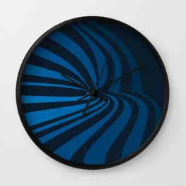 Movement in Blue Wall Clock