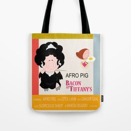 Bacon at Tiffany's Tote Bag