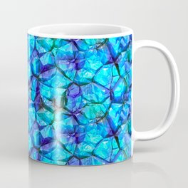 Blue gemstones Coffee Mug
