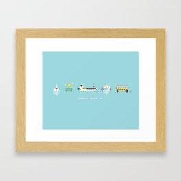 Mackinac Island Framed Art Print