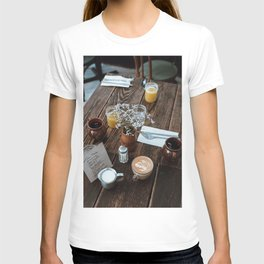 At the Cafe IV T-shirt