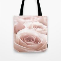 roses Tote Bags featuring Roses  by Bree Madden