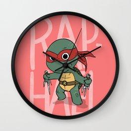 TMNT: Raphael (Cute & Dangerous) Wall Clock