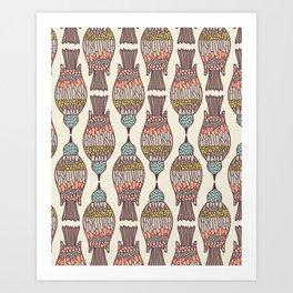 birdpeck summer Art Print