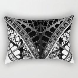 Eiffel Tower Detail Paris Rectangular Pillow