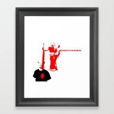 Giantrobo Framed Art Print