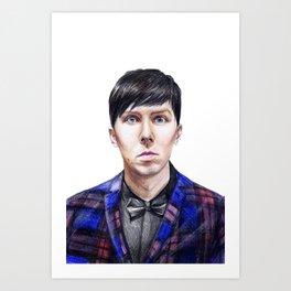 Phil Lester BRITs 2015 Art Print