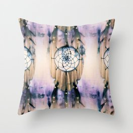 Tiled Dreams Throw Pillow