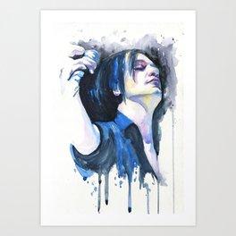Feel the moment Art Print