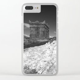 British Folly on the Hill Clear iPhone Case