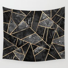 Black Stone 2 Wall Tapestry