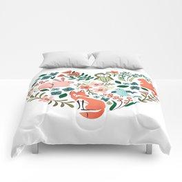 Animal Heart Comforters