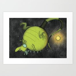Big Mo – Float Art Print