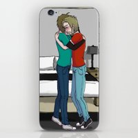 cryaotic iPhone & iPod Skins featuring Please don't cry by SofusGirl