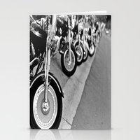 bikes Stationery Cards featuring Bikes by M. Gold Photography