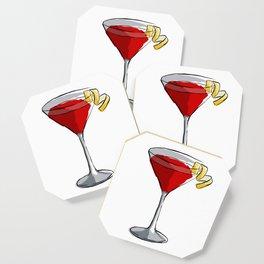 Cosmopolitan - Classic Cocktails series Coaster