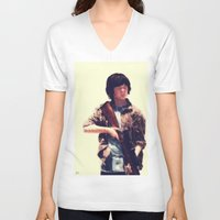 carl sagan V-neck T-shirts featuring Carl  by ConnorEden