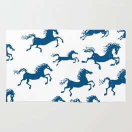 horses in a dream Rug
