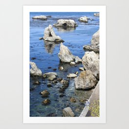 You and Me and the Ocean Art Print