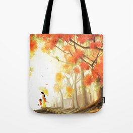 Gulmohar/ Flame of the Forest Tote Bag