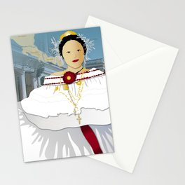 Hispanic Heritage Series - Central America - Panamanian Dancer Stationery Cards