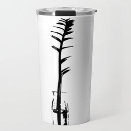 Branch in vase Travel Mug