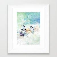 mushroom Framed Art Prints featuring mushroom by ARTION
