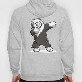 Funny Dabbing Old English Sheepdog Dog Dab Dance Hoody