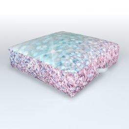 Pastel Winter Outdoor Floor Cushion