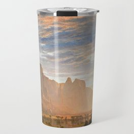Classical Masterpiece Yosemite Valley by Albert Bierstadt Travel Mug