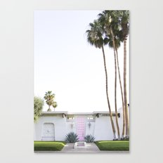 That Pink Door, Palm Springs Canvas Print