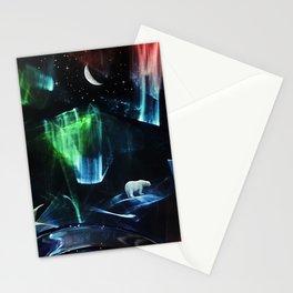 Aurora polaris Stationery Cards
