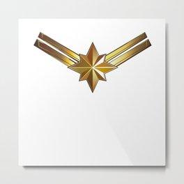 Captainmarvel Metal Print