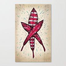 Three Flights Canvas Print