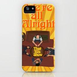 That 70s Show Season iPhone Case