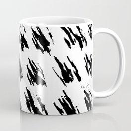 Polka Splotch Black Ink on Paper Coffee Mug