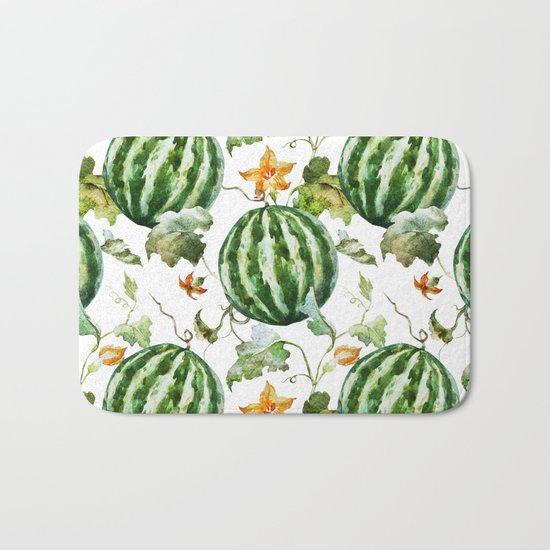 Melon Pattern 05 Bath Mat