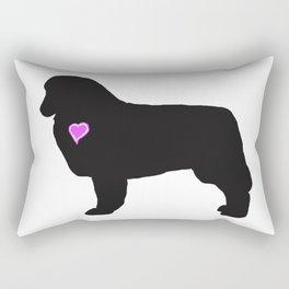 My Australian Shepherd Heart Belongs To You Rectangular Pillow
