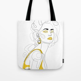 In Lemon Tote Bag