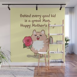Happy Mother's Day Wall Mural