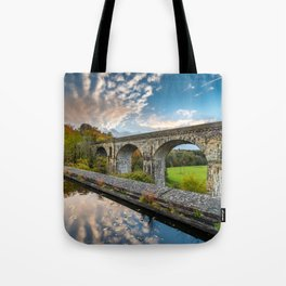 Chirk Aqueduct And Viaduct Tote Bag
