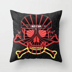 Deutsch Skull / Rammstein Throw Pillow