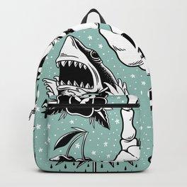 Cool Retro Design Illustration Set Backpack