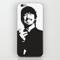 david fleck iPhone & iPod Skins featuring david by b & c
