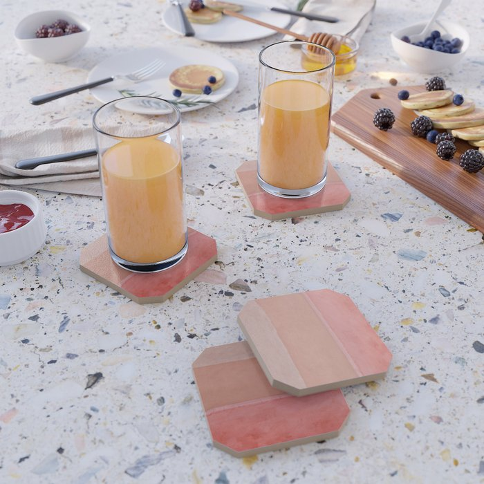 Colors of Morocco - Landscape Photography Coaster