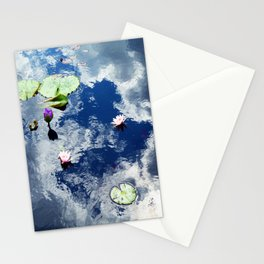 Water Lily Sky Stationery Cards