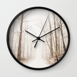 The Road Ahead Wall Clock