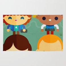 So stranger, with things Rug