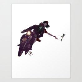 Escapar Art Print